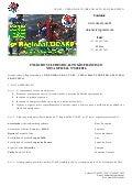 Regulamento Oficial 9º Regional UCASF