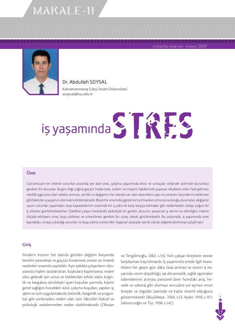 İş Hayatında Stresle Nasıl Başa Çıkılır
