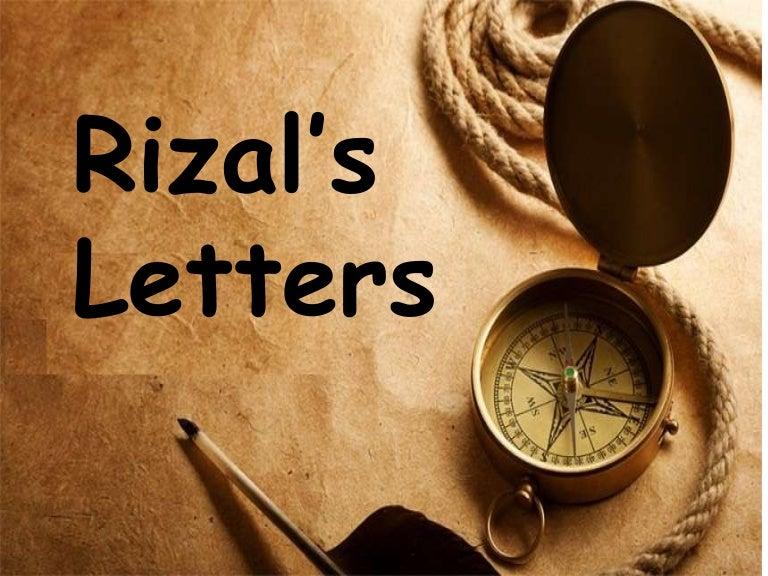 Jp rizal letters in hong kong toneelgroepblik Gallery