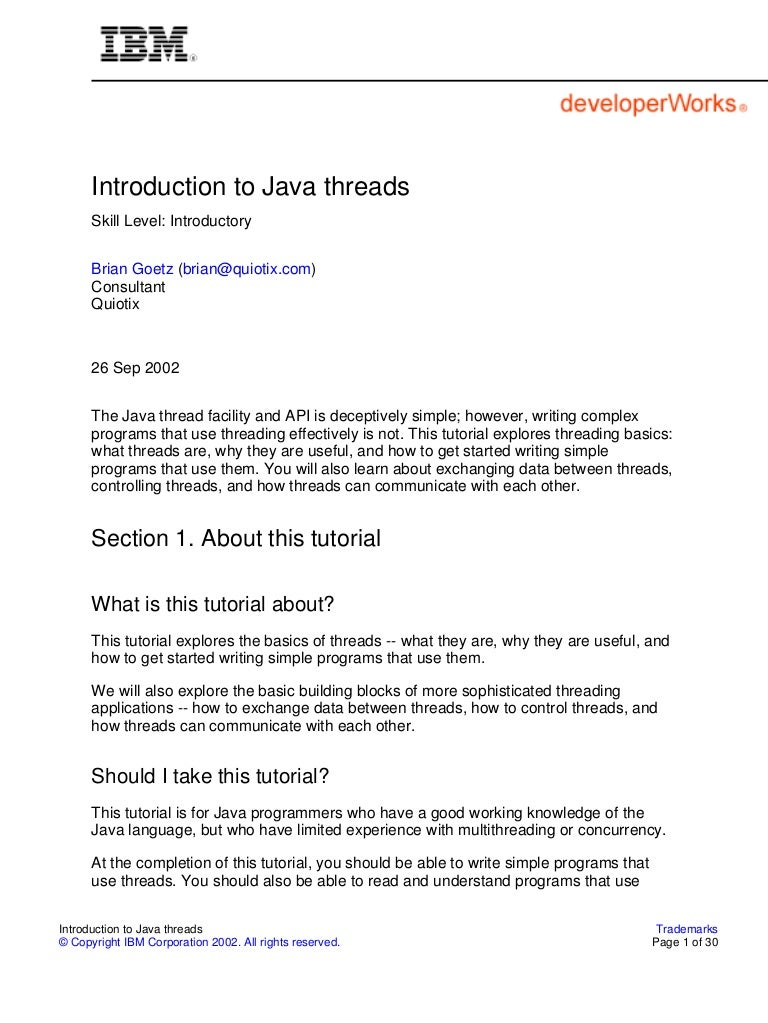 Java Threads 3rd Edition Pdf