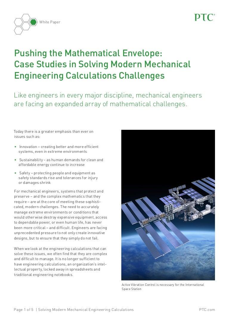 Pushing the Mathematical Envelope: Case Studies in Solving