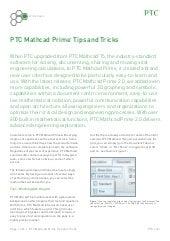 Mathcad Tips & Tricks