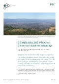 De Anza College: PTC Creo Delivers An Academic Advantage