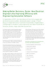 Making Better Decisions, Faster: How Electrical Engineers Are Improving Efficiency with Engineering Calculation Software