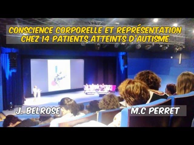 Intervention au JA en thérapie psychomotrice Joanne Belrose & MC Perret