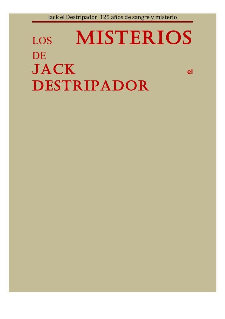 Los misterios de Jack el Destripador