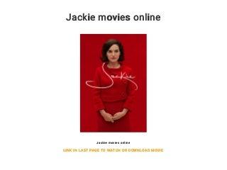 Jackie movies online