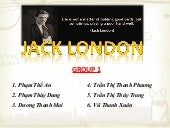 The summary about Jack london