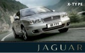 Jaguar X Type brochure