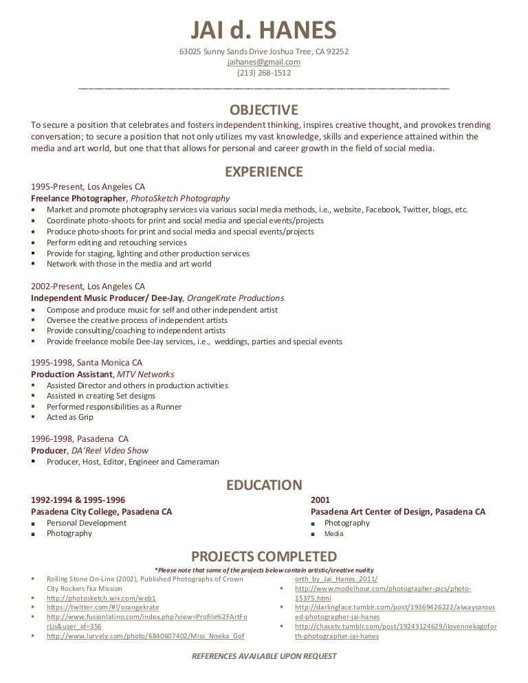 Video Editor Resume Template Best Template Design Ascend Surgical Sample Photographer  Resume Freelance Photographer Resume  Freelance Photographer Resume