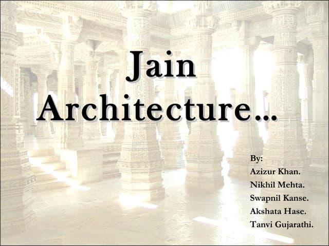 Jain architecture final 1
