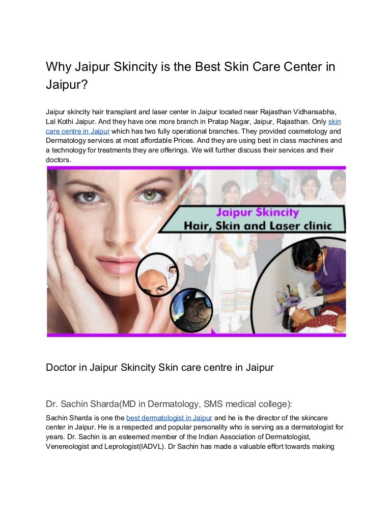 Best Skin Care And Hair Transplant Clinic In Jaipur