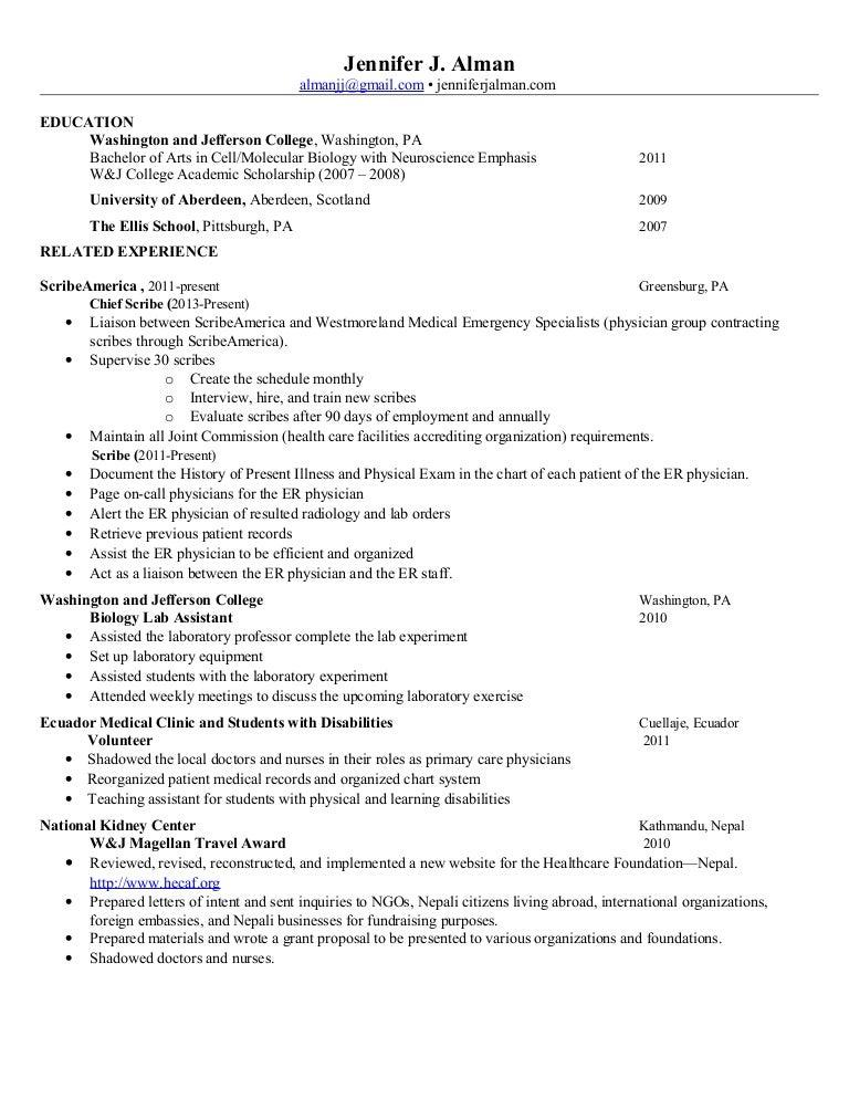 j alman resume