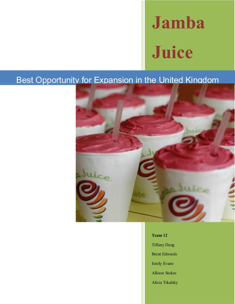 proposal for jamba juice Issuu is a digital publishing platform that makes it simple to publish magazines, catalogs, newspapers, books, and more online easily share your publications and get them in front of issuu's.