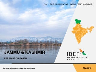 Jammu and Kashmir State Report May 2018