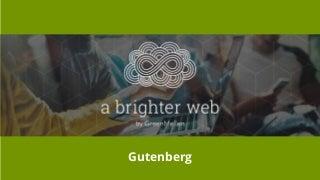 Meetup: The big change coming to WordPress in 2018 - Gutenberg