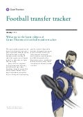 Grant Thornton - Jan2012 football transfer tracker