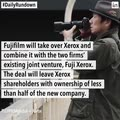 Fujifilm will take over Xerox, Apple is being investigated for slow phones, and more news