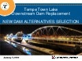 Tempe Town Lake dam replacement technology  - short version