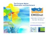EMODnet Sea-Basin Checkpoints Stakeholder Conference: Welcome and setting the scene