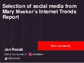 Internet Trends 2015 - Selection of social media trends with additional data by Jan Rezab & Socialbakers