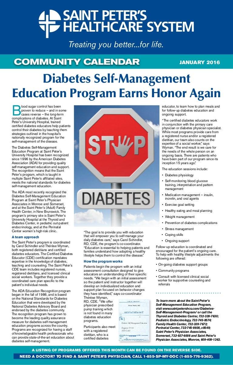 Diabetes self management education program earns honor again xflitez Images