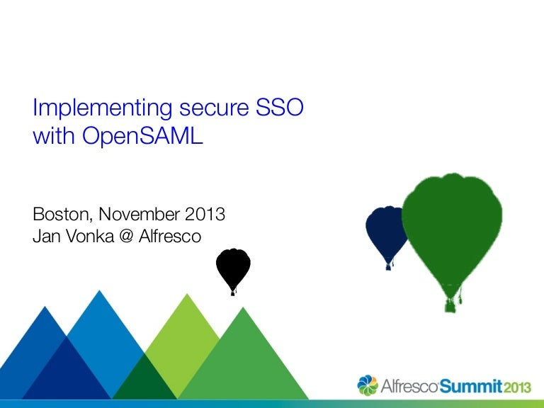 Alain on security: generate saml 2 authnrequest by using opensaml 3.