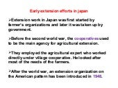 Japan's Extension System