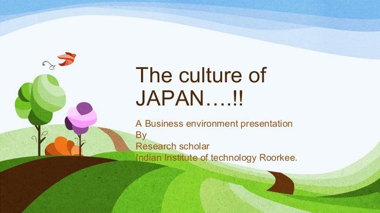 Japan Culture Business Environment