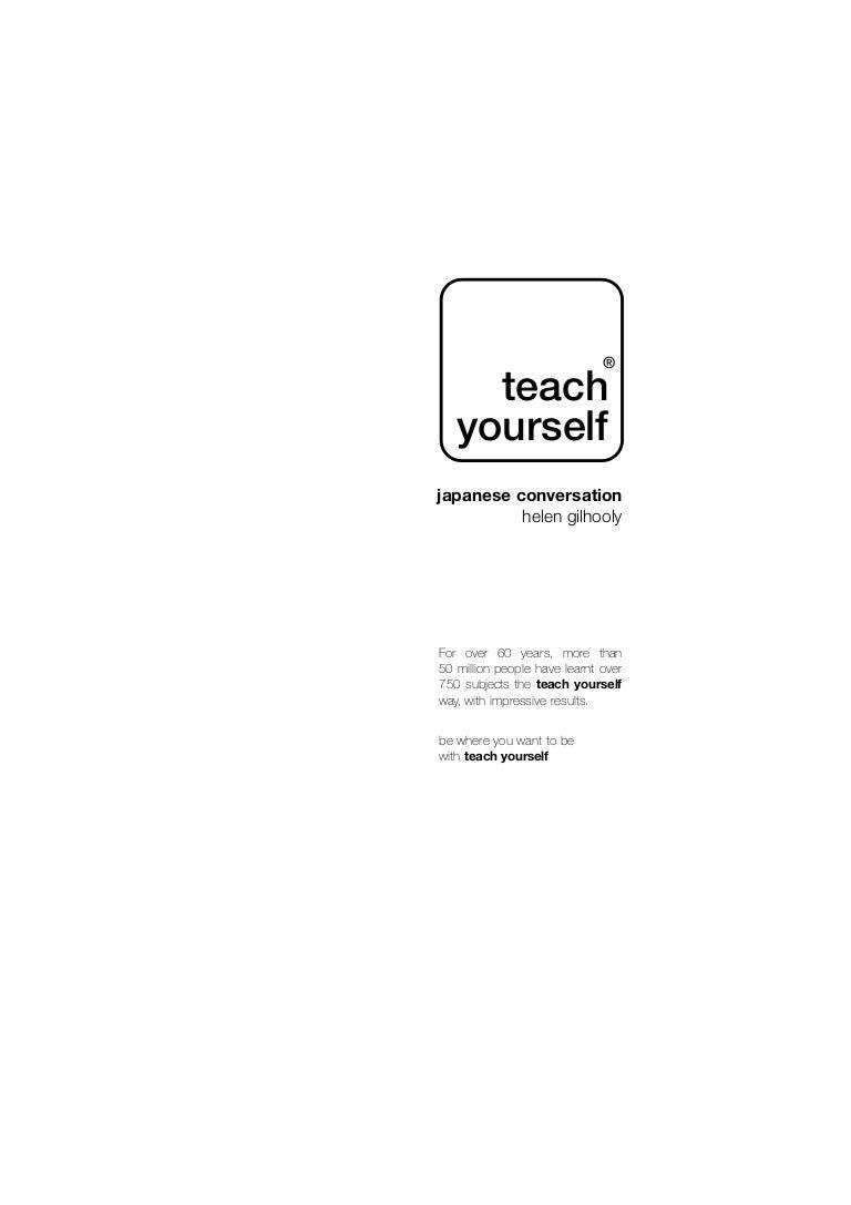 Japanese Conversation Booklet