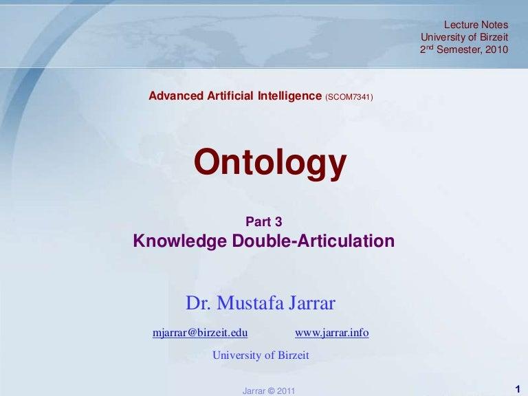 Jarrar lecture notes aai 2011s ontology part3_double