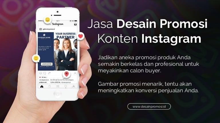 Jasa Desain Promosi Instagram Www Desainpromosi Id