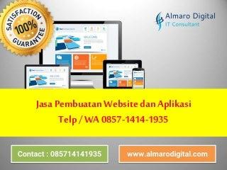 Telp/Wa 0857-1414-1935 jasa pembuatan website dan aplikasi Sukabumi