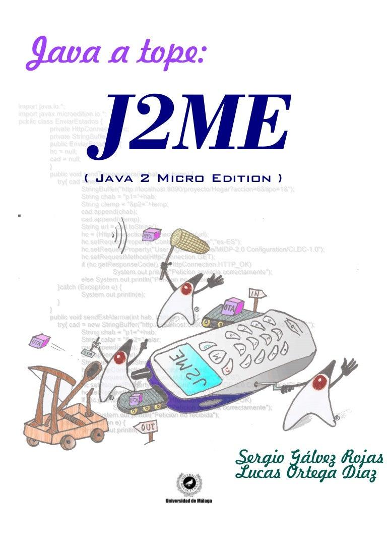 Java a tope j2 me java 2 micro edition baditri Gallery