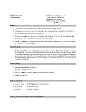 java developer resume1 - Java Developer Resume
