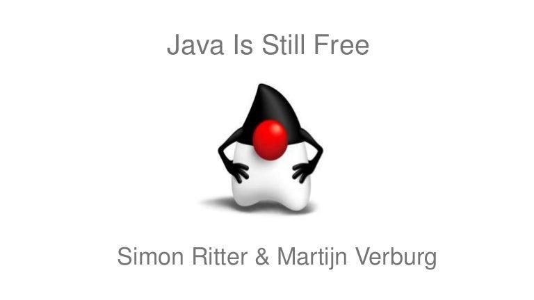 Java Is Still Free