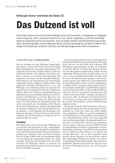 Java magazin9 2012_wls 12c_das_dutzend_ist_voll