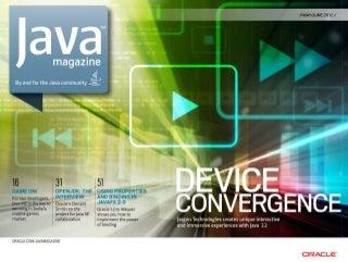 Java Magazine May/June 2012