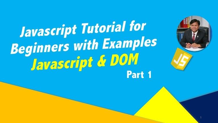 Xml dom tutorial.