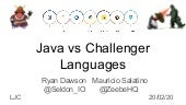LJC Feb 2020 - Java vs Challengers
