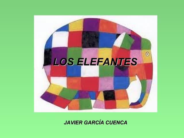 JAVI Y EL MUNDO DE LOS ELEFANTES