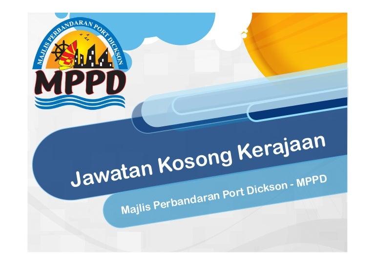 Jawatan Kosong Majlis Perbandaran Port Dickson