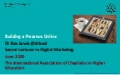 Building a Presence Online with International Association of Chaplains in Higher Education