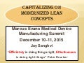 Capitalizing on Modernized Lean Concepts
