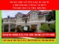 Foreclosed House and Lot rush rush for sale in Cavite, Hurry to avail