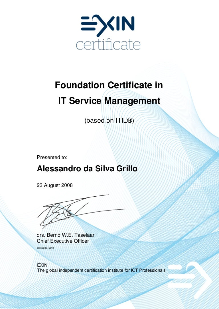 20080826 itv2 f it service management foundation based on itil 1betcityfo Image collections