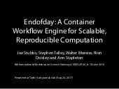 Endofday: A Container Workflow Engine for Scalable, Reproducible Computation