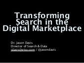 Transforming Search in the Digital Marketplace