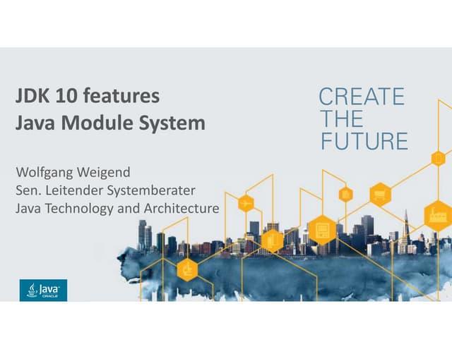 JDK 10 Java Module System