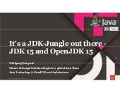 It's a JDK- Jungle Out There – JDK 15 and OpenJDK 15